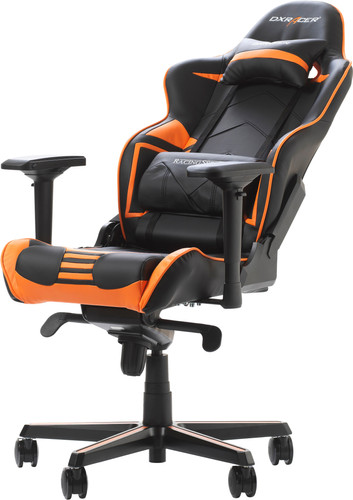 DXRacer RACING PRO Gaming Chair Zwart/Oranje Main Image
