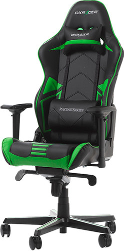 DXRacer RACING PRO Gaming Chair Zwart/Groen Main Image