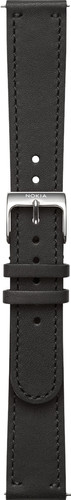 Withings 18mm Leather Watch Strap Black Main Image
