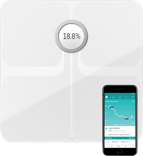 Fitbit Aria 2 Weegschaal Wit Main Image