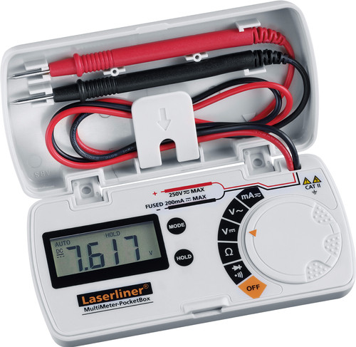 Laserliner MultiMeter PocketBox Main Image