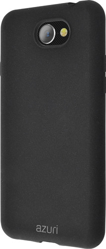 Azuri Flexible Sand General Mobile GM6 Back Cover Zwart Main Image