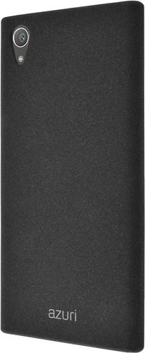 Azuri Flexible Sand Sony Xperia XA1 Plus Back Cover Zwart Main Image
