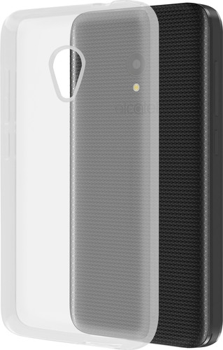 Azuri Glossy TPU Alcatel U5 Back Cover Transparant Main Image
