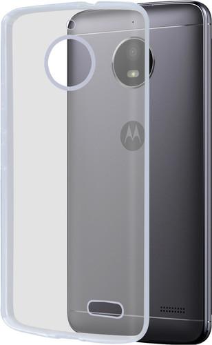 Azuri Glossy TPU Motorola Moto E4 Back Cover Transparant Main Image