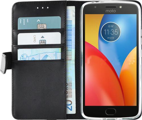 Azuri Wallet Magneet Motorola Moto E4 Plus Book Case Zwart Main Image