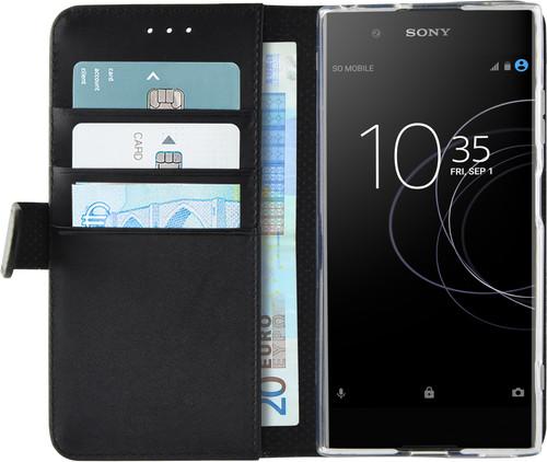 Azuri Wallet Magneet Sony Xperia XA1 Plus Book Case Zwart Main Image