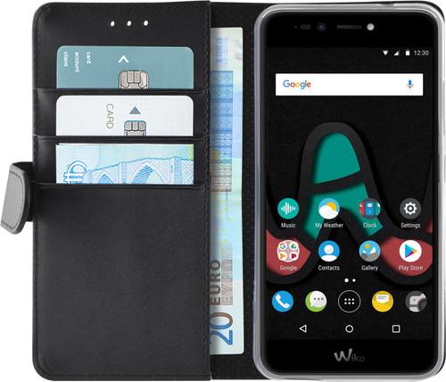 Azuri Wallet Magneet Wiko U Pulse Book Case Zwart Main Image
