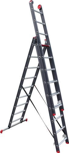 Altrex All Round 3x9 Reform Ladder Coated Main Image