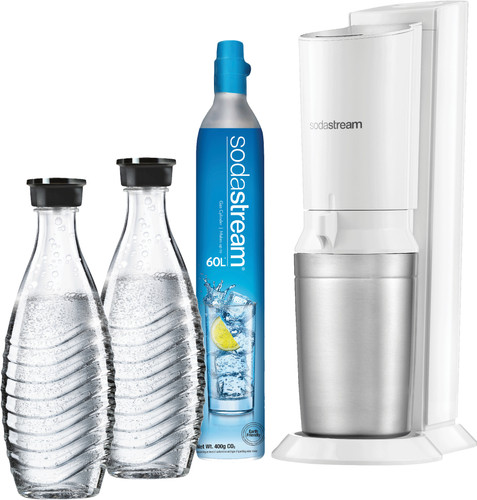 Sodastream Crystal Megapack White + 2 karaffen Main Image