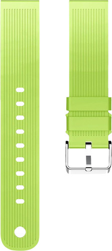 Just in Case Samsung Gear Sport Silicone Watch Strap Green Main Image