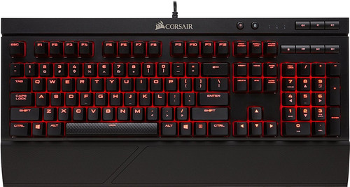 Corsair K68 Cherry MX Red Gaming Keyboard QWERTY Main Image