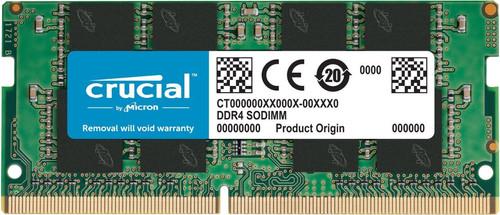 Crucial 8GB 2400MHz DDR4 SODIMM (1x8GB) Main Image