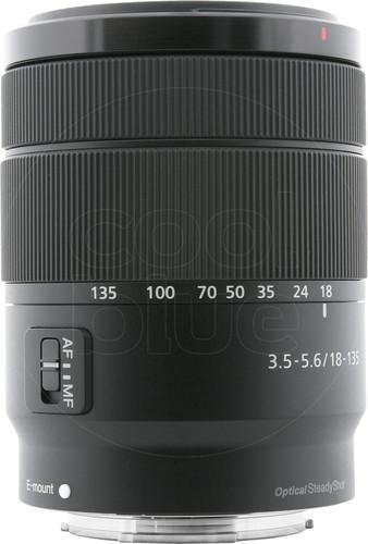Sony SEL 18-135mm f/3.5-5.6 OSS Main Image