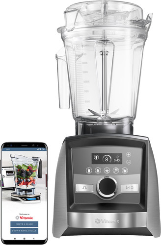 Vitamix Ascent A3500i Brushed Stainless Steel Main Image