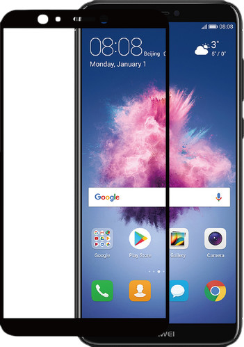 Azuri Tempered Glass Huawei P Smart Screen Protector Glass Black Main Image