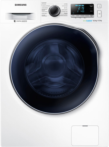 Samsung WD80J6A00AW Eco Bubble - 8/5 kg Main Image