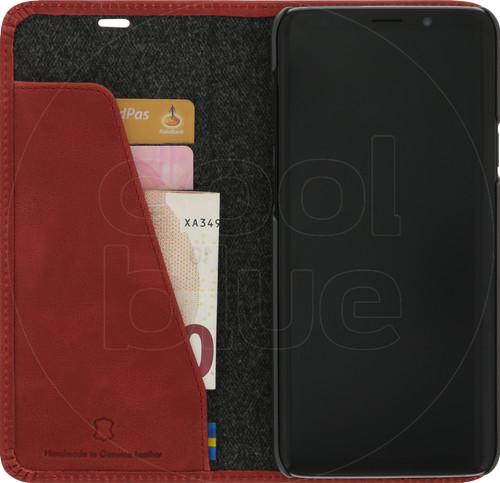 Krusell Sunne Samsung Galaxy S9 Plus Book Case Rood Main Image
