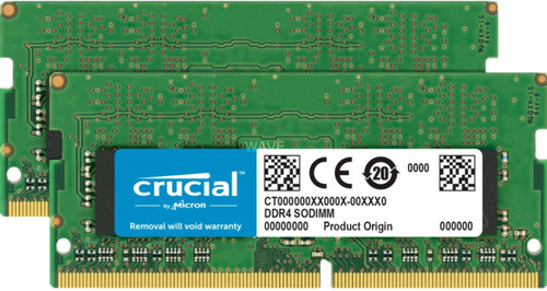 Crucial Apple 32GB DDR4 SODIMM 2400 MHz Kit (2x16GB) Main Image