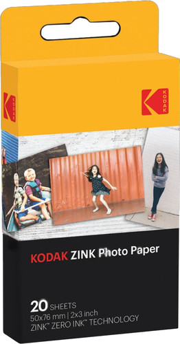Kodak Printomatic Zinc photo paper (20 pieces) Main Image