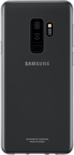 Samsung Galaxy S9 Plus Clear Back Cover Transparant Main Image