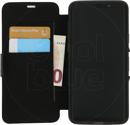 GEAR4 D3O Oxford Samsung Galaxy S9 Plus Book Case Zwart Main Image