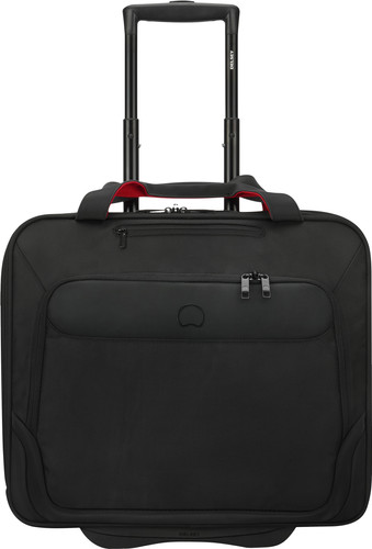 Delsey Parvis Plus Boardcase Laptop Upright 38cm Black Main Image