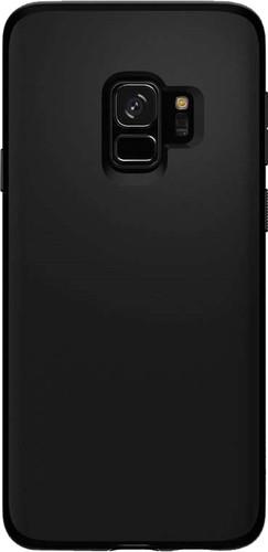 Spigen Liquid Crystal Samsung Galaxy S9 Back Cover Black Main Image