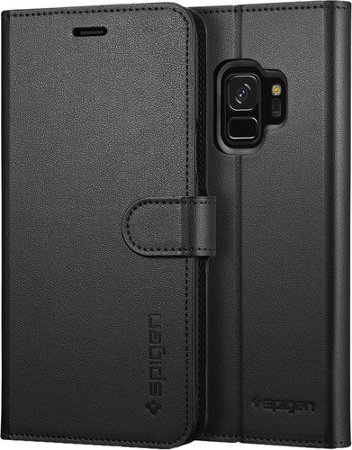 Spigen Wallet S Samsung Galaxy S9 Book Case Zwart Main Image