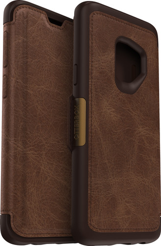 Otterbox Strada Samsung Galaxy S9 Book Case Brown Main Image