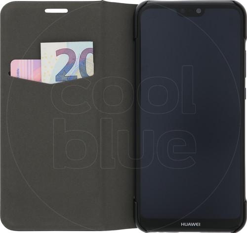 Azuri Booklet Ultra Thin Huawei P20 Lite Book Case Zwart Main Image
