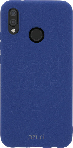 Azuri Flexible Sand Huawei P20 Lite Back Cover Blue Main Image