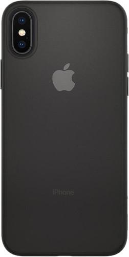 Spigen Air Skin Apple iPhone X Back Cover Zwart Main Image