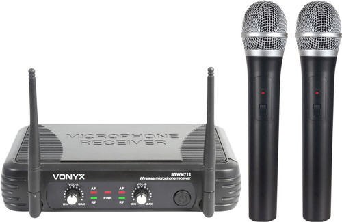 Vonyx STWM712 (200.175 and 201.400 MHz) Main Image
