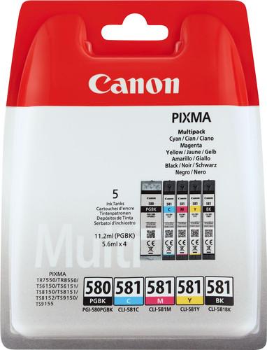 Canon PGI-580/CLI-581 Cartridges Combo Pack Main Image