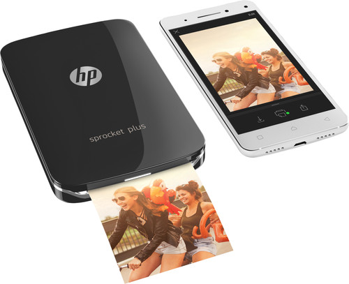 HP Sprocket Plus 2FR86A Zwart Main Image