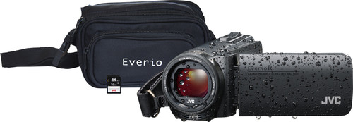 JVC GZ-R495BEU Black + memory card + bag Main Image