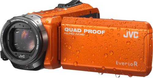 JVC GZ-R405DEU Oranje Main Image