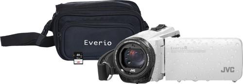 JVC GZ-R495WEU White + memory card + bag Main Image