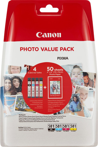 Canon CLI-581 Value Pack Main Image