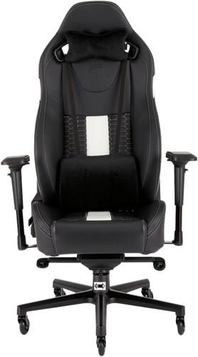 Corsair T2 Road Warrior Gaming Chair Zwart/Wit Main Image