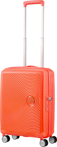 American Tourister Soundbox Expandable Spinner 55cm Spicey Peach Main Image