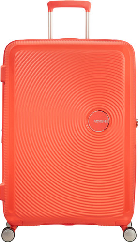 American Tourister Soundbox Expandable Spinner 77cm Spicy Peach Main Image
