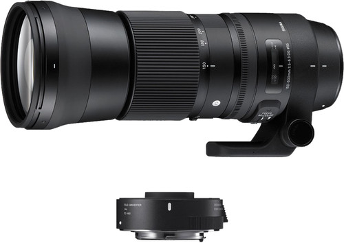 Sigma 150-600mm f/5-6.3 DG OS HSM C Nikon F + TC-1401 1.4x Main Image