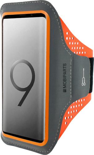 Mobiparts Comfort Fit Sportarmband Samsung Galaxy S9 Plus Oranje Main Image