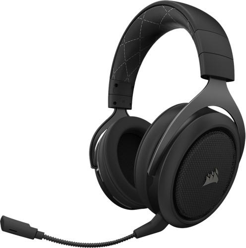 Corsair HS70 Wireless Surround Sound Gaming Headset Zwart Main Image