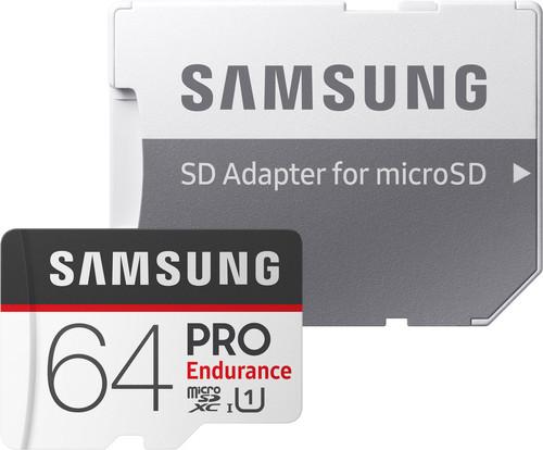 Samsung microSDXC PRO Endurance 64GB 100MB/s + SD Adapter Main Image