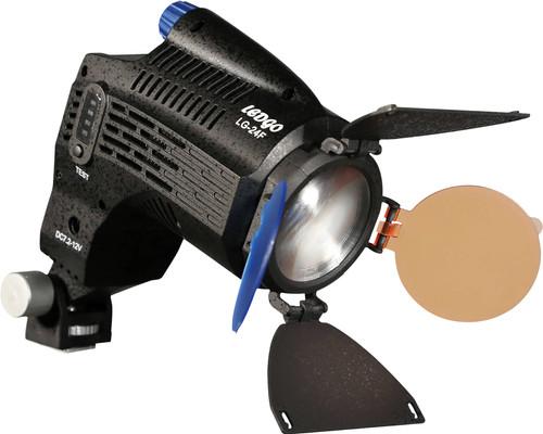 Ledgo LG-24F On-Camera LED Fresnel lamp Main Image
