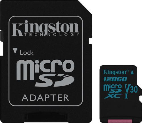 Kingston microSDXC Canvas Go! 128GB 90 MB/s + SD Adapter Main Image