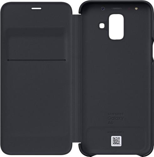 Samsung Galaxy A6 (2018) Wallet Cover Book Case Zwart Main Image